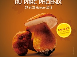 Salon du Champignon / Parc Phoenix Nice