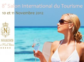 Affiche du 8e Salon Internationale du tourisme de la Côte d'Azur