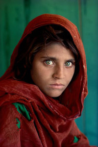 Sharbat Gula Afghan Girl at Nasir Bagh refugee camp near Peshawar Pakistan  1984   Steve McCurry - Magnum Photos