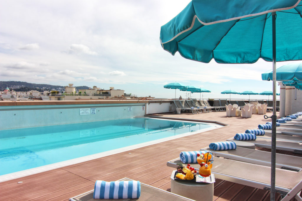 Rooftop 360 ac hôtel Nice / Whataboutnice