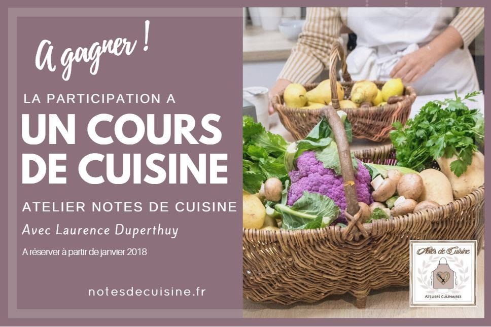 Les ateliers Notes de cuisine / Whataboutnice.fr