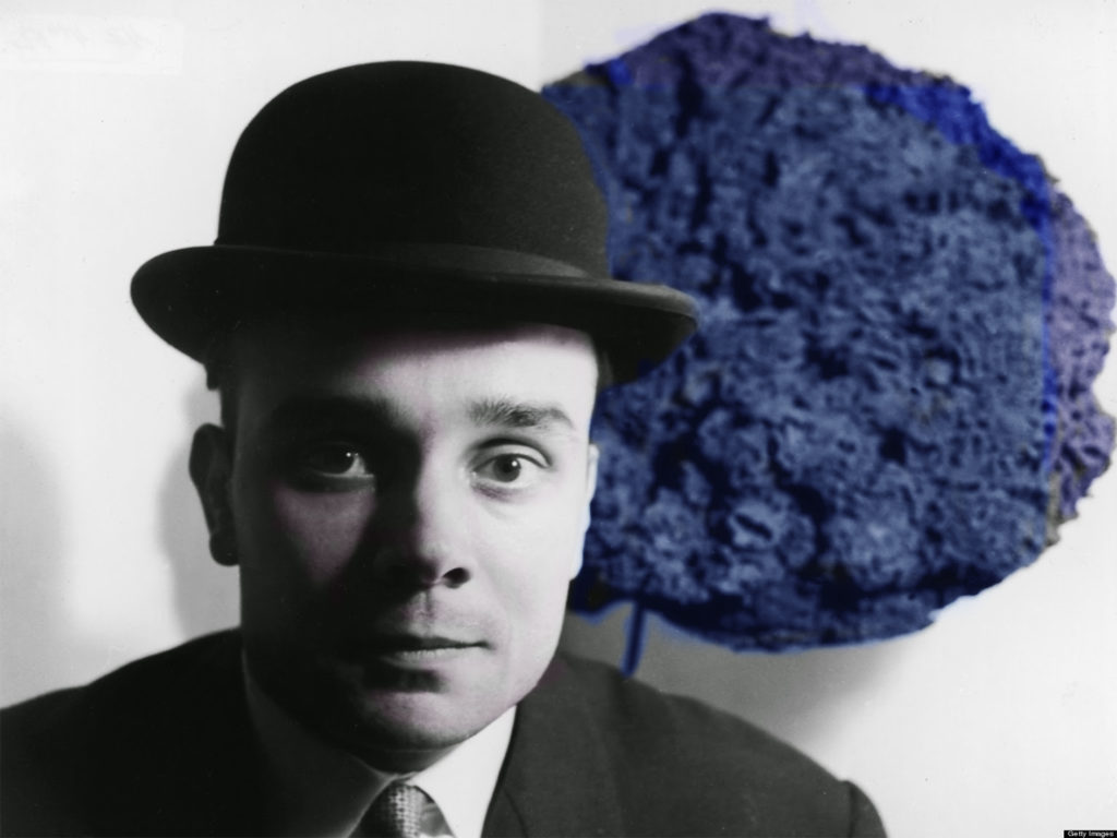 Yves Klein, Monochrome Propositions Of Yves Klein, Gallery One, Londres, 1957 - © JPaul Getty Trust