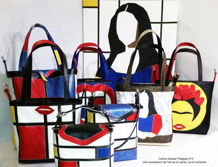 Scarlett Boutique : Karl Backwell, des sacs uniques « made in Nice »